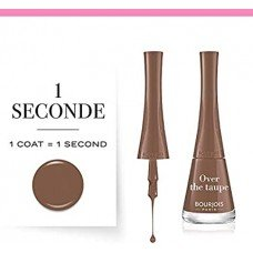 Bourjois 1 Seconde Nail Polish 03 Over the taupe, 9 ml/0.30 oz